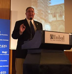 Addressing the Jerusalem Leaders Summit on the threat of